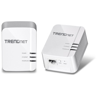TRENDnet TPL-406E2K 220-240V 10/100 Mb/s powerline adapter Kit KIT