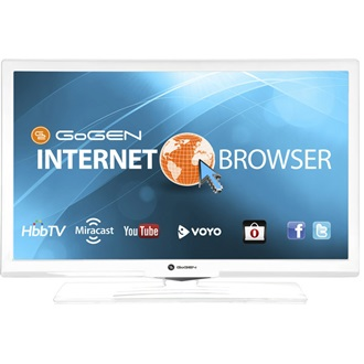 "Gogen TVH24E550WEBW TV LCD 24"" LED SMART fehér"