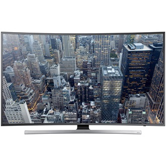 "TV LCD 48"" UHD 3D LED Samsung UE48JU7500LXXH  ívelt SMART"