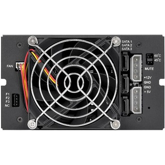 "Thermaltake 3.5"" SATA3 backplane fekete"