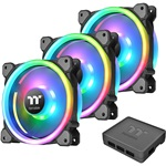 Thermaltake Riing Trio 14 RGB Radiator Fan TT Premium Edition 3 Pack/Fan/14025/PWM 500~1400rpm/Triple Riing/LED software