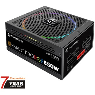 Thermaltake Smart Pro RGB ATX gamer tápegység 850W 80+ Bronze BOX
