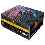 Thermaltake Toughpower DPS G RGB ATX gamer tápegység 650W 80+ Gold BOX