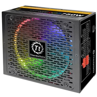 Thermaltake Toughpower DPS G RGB ATX gamer tápegység 750W 80+ Gold BOX