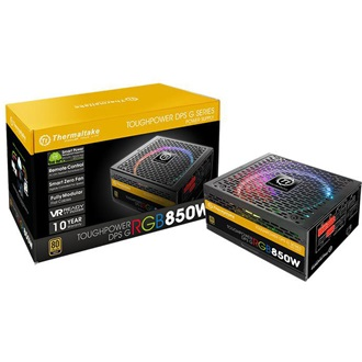 Thermaltake Toughpower DPS G RGB ATX gamer tápegység 850W 80+ Gold BOX