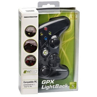 Thrustmaster GPX LightBack Black Edition USB gamepad