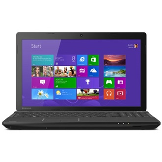 Toshiba Satellite C55-A-134 notebook fekete