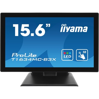 "Touchscreen monitor Iiyama T1634MC-B3X 15.6"", 8ms, DVI, USB, black"