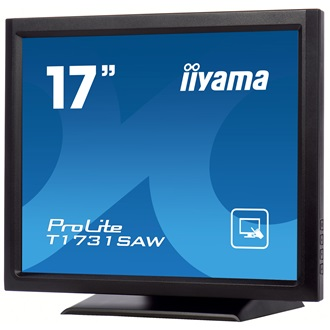 "Touchscreen monitor Iiyama T1731SAW-B1 17"", 5ms, DVI, Speakers, black"