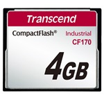 Transcend 4GB High Speed CF170 Compact Flash memóriakártya