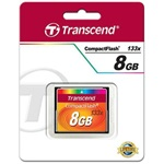 Transcend 8GB High Speed 133x Compact Flash memóriakártya