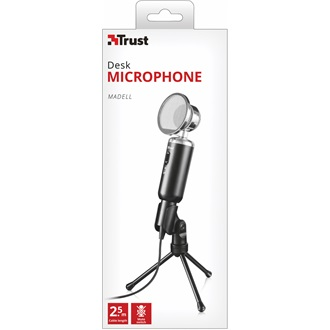 Trust Madell Desk Microphone for PC and laptop