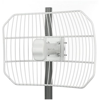 Ubiquiti AirGrid M2 HP 16 2.4GHz, 28dBm, 16dBi Integrated Grid Antenna, PoE
