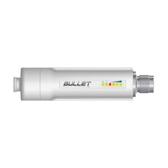 Ubiquiti Bullet 5GHz Outdoor Radio, 802.11a, 22dBm, Passive PoE, N-type Male
