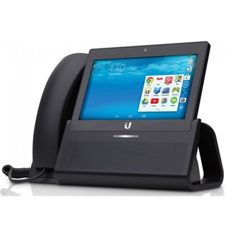 "Ubiquiti UVP-Executive UniFi Android Voip Phone PoE 802.3af, 7""Touchscreen, WiFi"
