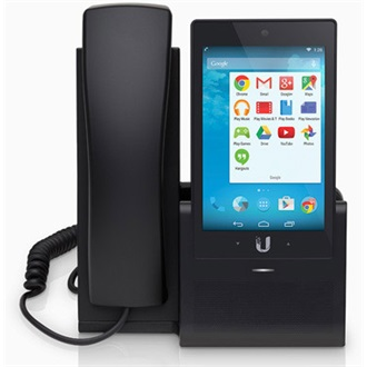 "Ubiquiti UVP UniFi Android Voip Phone PoE 802.3af, 5"" Multi-Touchscreen"