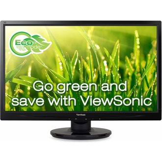 "Viewsonic VA2445-LED 23.6"" LED monitor fekete"