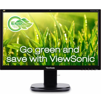 "Viewsonic VG2437MC-LED 23.6"" LED monitor fekete"