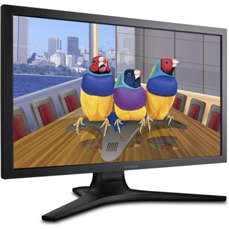 "Viewsonic VP2770-LED 27"" LED monitor fekete"