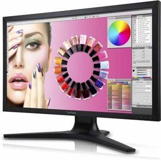 "Viewsonic VP2772 27"" LED monitor fekete"
