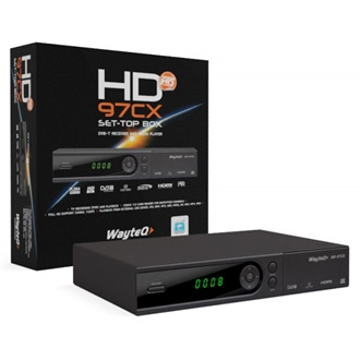 Wayteq HD-97CX TV-BOX DVB-T receiver and media player