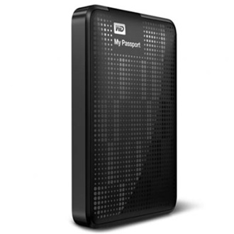 "Western Digital My Passport 500GB USB3.0 2,5"" külső HDD fekete"