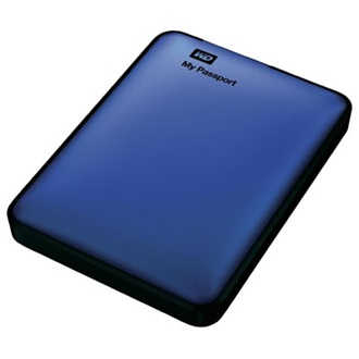 "Western Digital My Passport 500GB USB3.0 2,5"" külső HDD kék"