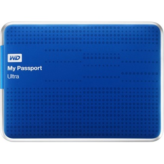 "Western Digital My Passport Ultra 500GB USB3.0 2,5"" külső HDD kék"