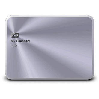 "Western Digital My Passport Ultra Metal Edition 1000GB USB3.0 2,5"" külső HDD ezüst"