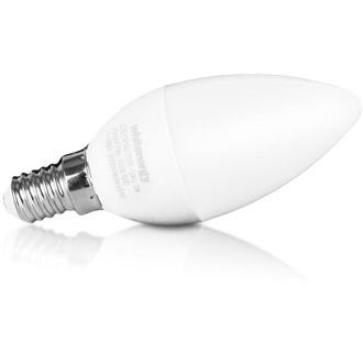 Whitenergy LED pack 5 x E14, 5W, C30; 5 x E14, 5W, C30L  1 GRATIS