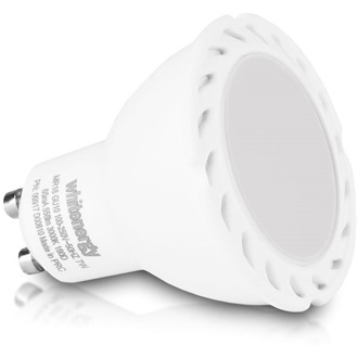 Whitenergy LED pack  5x GU10, COB, 7W, MR16 5x GU10, COB, 8W 1 GRATIS