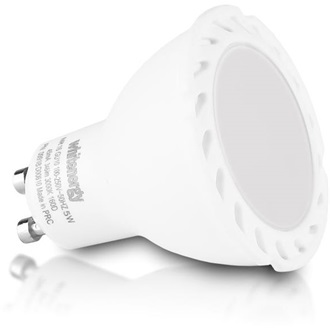 Whitenergy LED 11 x  bulb | GU10 | 6 SMD 2835 | 5W | 230V | milky | MR16