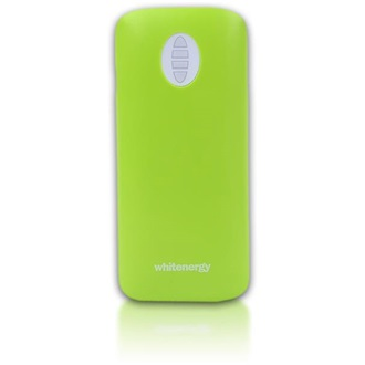 Whitenergy Power Bank 4000mAh Li-Ion 1-2.1A  zöld