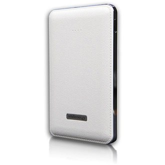 Whitenergy Power Bank 5000mAh Li-Ion 1-2.1A  fehér