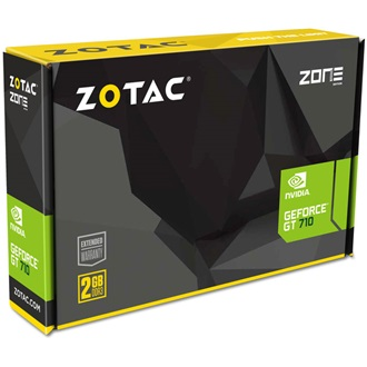 Zotac GF GT 710 ZONE EDITION 1GB DDR3 DVI DP HDMI