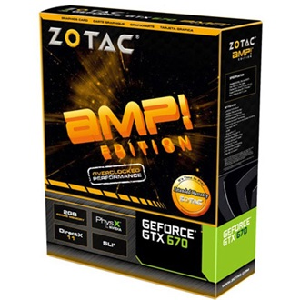 ZOTAC Geforce GTX670 Premium Pack 2GB GDDR5 256bit PCI-E x16