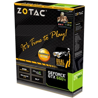 ZOTAC Geforce GTX660 Ti 2GB GDDR5 192bit PCI-E x16