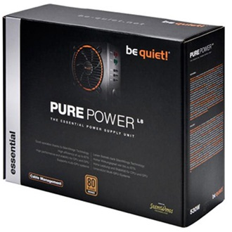 be quiet! Pure Power L8-530W / CM ATX gamer tápegység 530W 80+ Bronze