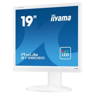 "iiyama 19"" Prolite B1980SD, wide, 5ms, DVI, speakers, white"