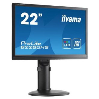 "iiyama 21.5"" Prolite B2280HS-B1 Full HD, 5ms, HDMI, speakers"