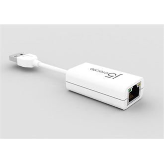 j5create USB2.0 10/100Mbps Windows 8 compatible hálózati adapter